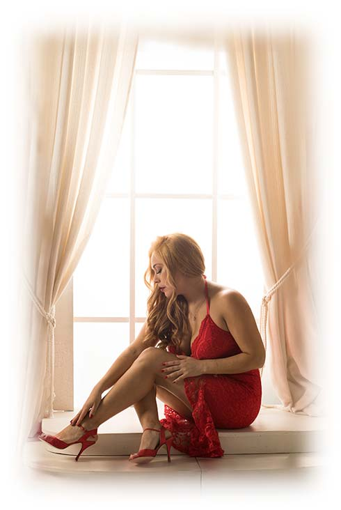 Adriana Romero Profesora de Tango