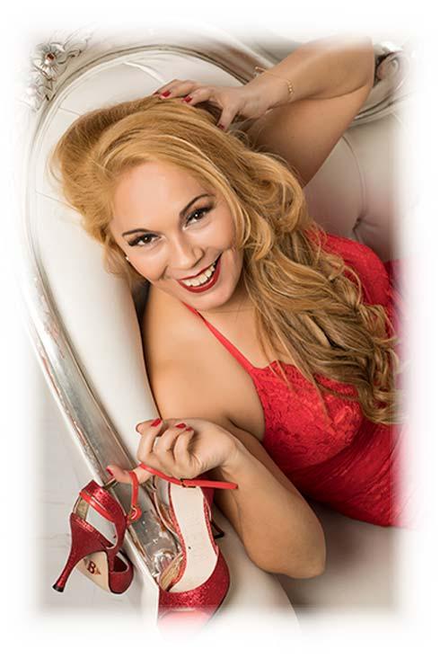 Adriana Romero - Profesora de Tango